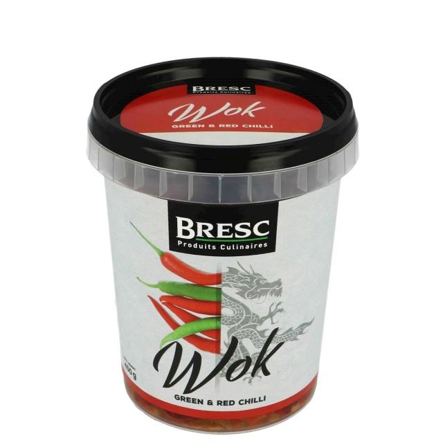 Groene & rode peper WOK 450g